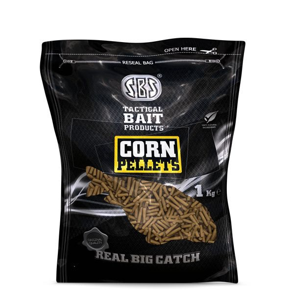 SBS CORN PELLETS CORN 1 KG 3 MM
