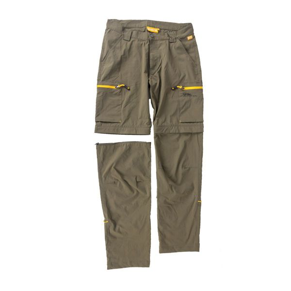 NAVITAS EXPLORER ZIP-OFF TROUSERS GREEN