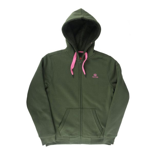 NAVITAS CORE ZIP HOODY GREEN