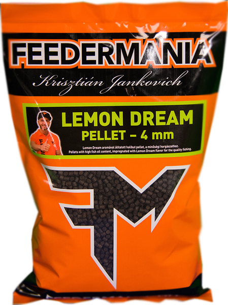PELLET 4 MM LEMON DREAM 800 GR