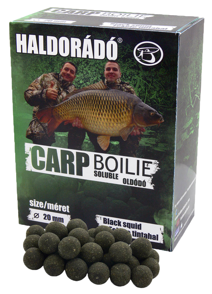 Haldorádó Carp Boilie Soluble - Black Squid