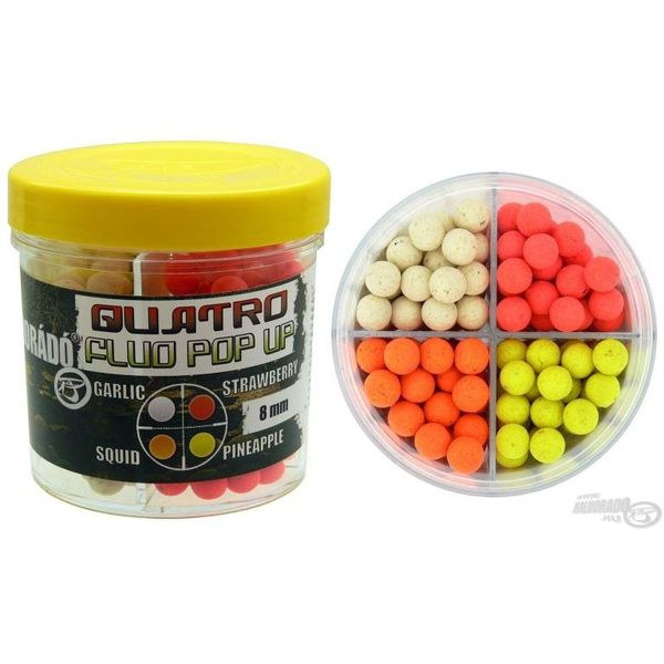 Haldorádó Quatro Fluo Pop Up Boilies