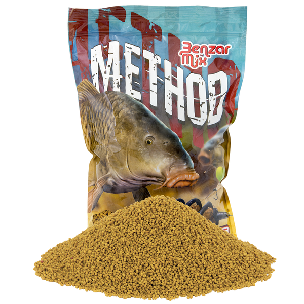 Benzar Method Pellet Méz 2 mm 800 gr