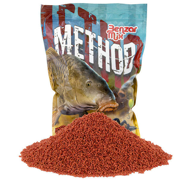 Benzar Method Pellet Tutti-Frutti 2 mm 800gr