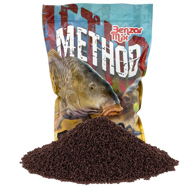 Benzar Method Pellet Red Halibut 2 mm 800gr