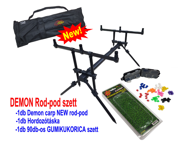 DEMON CARP DEMON rod pod szett empty 8d455687a7