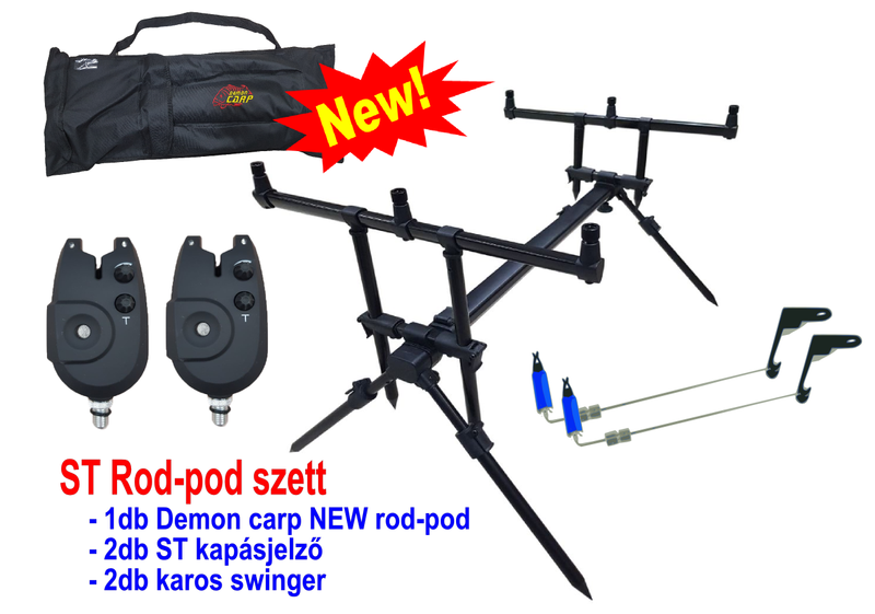 DEMON CARP ST rod pod szett