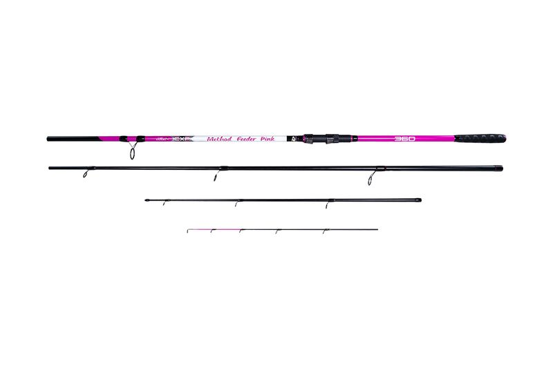 CARP EXPERT METHOD FEEDER PINK 3,6m