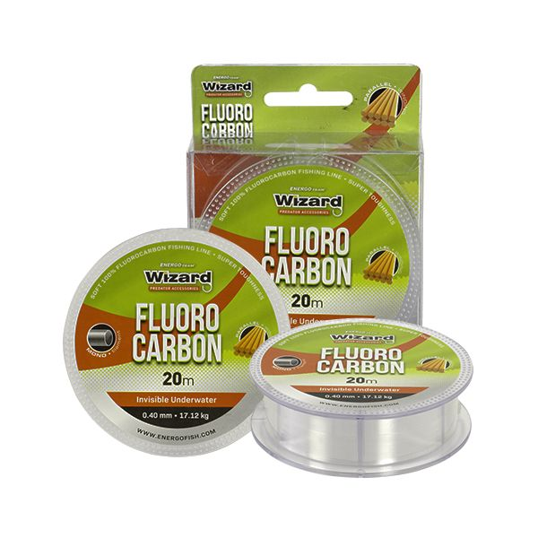 WIZARD FLUOROCARBON 20M 12,28 TRANSPARENT