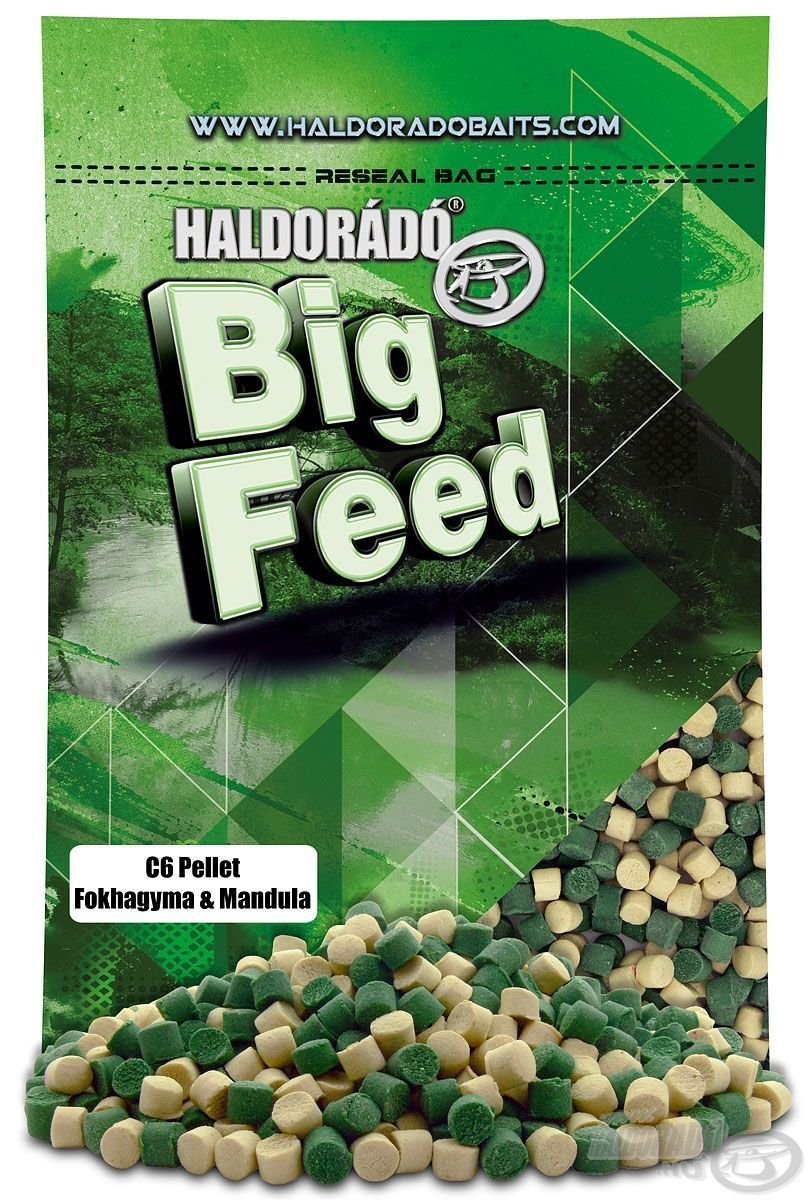 Haldorádó Big Feed - C6 Pellet