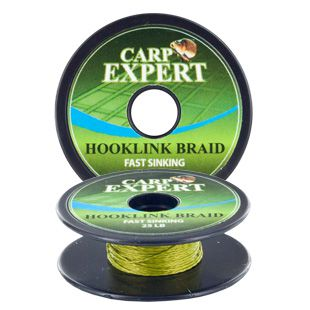 CARP EXPERT FAST SINKING OLIVE GREEN 10M