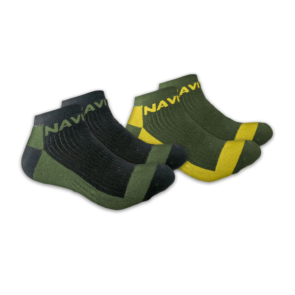 NAVITAS COOLMAX ANKLE SOCK TWIN PACK GREEN