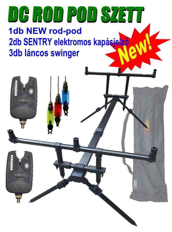 Demon Carp D C Rod Pod Szett