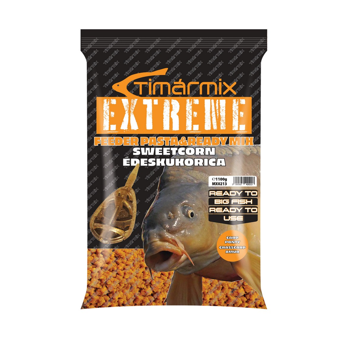 TÍMÁR MIX EXTREME FEEDER PASTA & READY BRUTAL CORN MIX