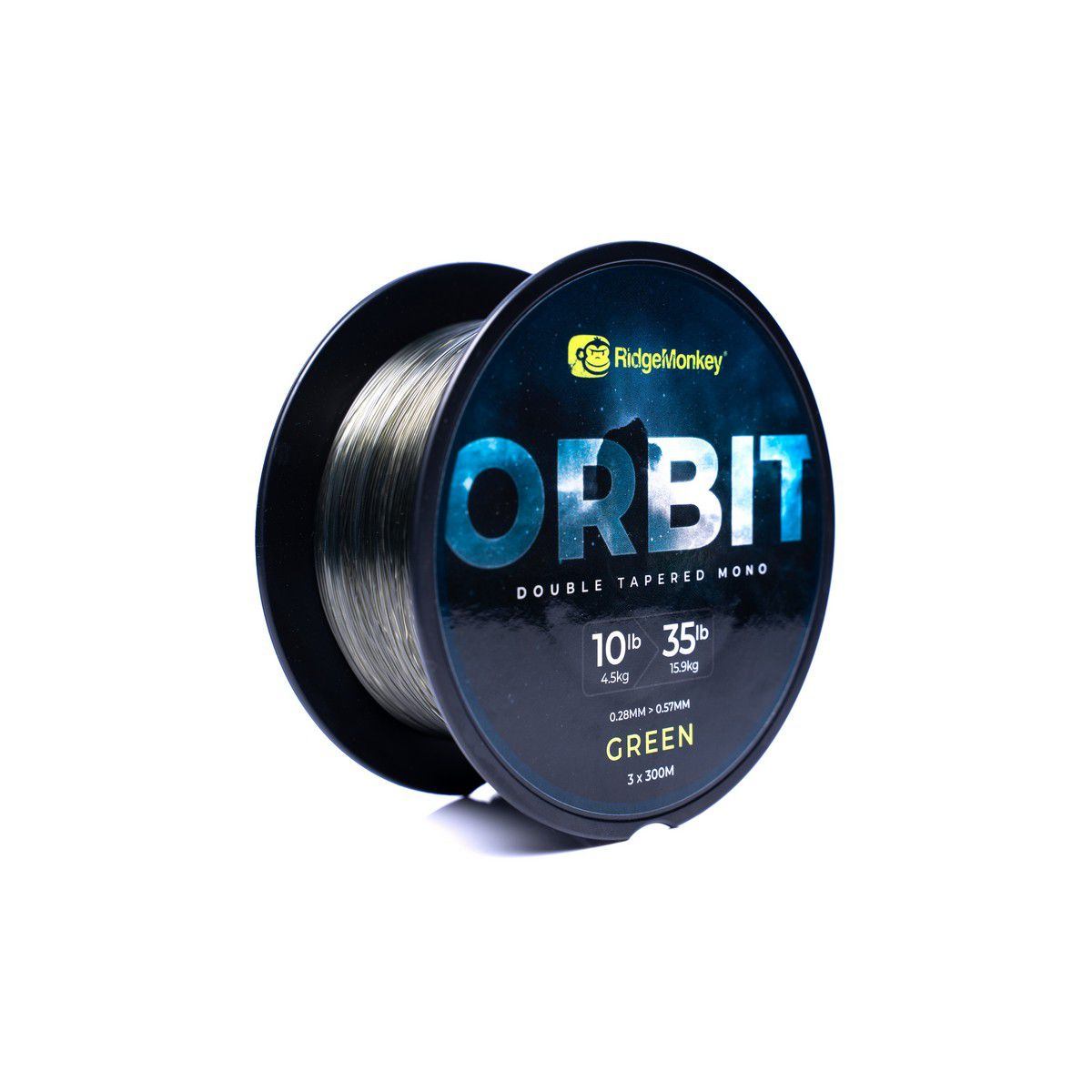 RIDGEMONKEY ORBIT DOUBLE TAPERED MONOFIL ZSINÓR GREEN 3X300M