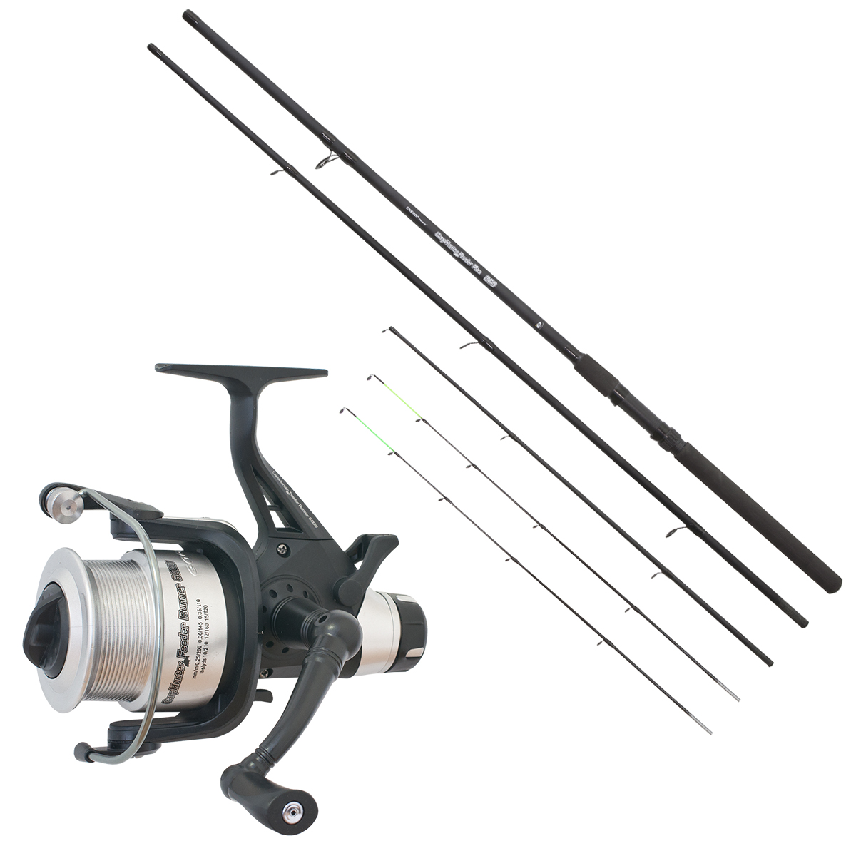 CARP HUNTER 360 PLUS FEEDER SZETT