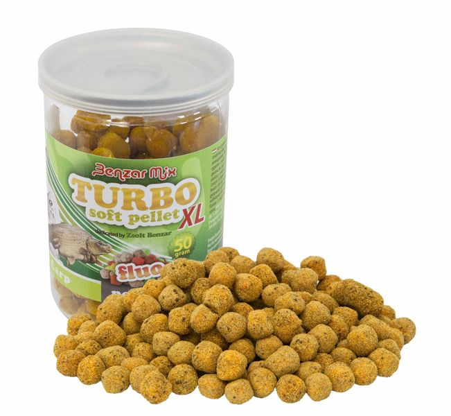 Benzar Mix Turbo Soft Pellet XL Fluoro Carp