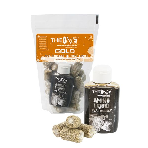 The One Gold PVA Hurka + 100 ml Aroma