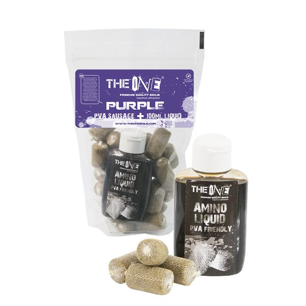The One Purple PVA Hurka + 100 ml Aroma