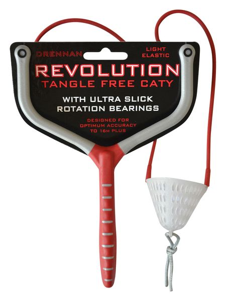 Drennan csúzli Revolution Tangle Free Caty piros