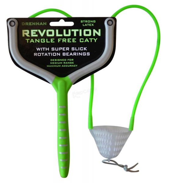 Drennan csúzli Revolution Tangle Free Caty zöld