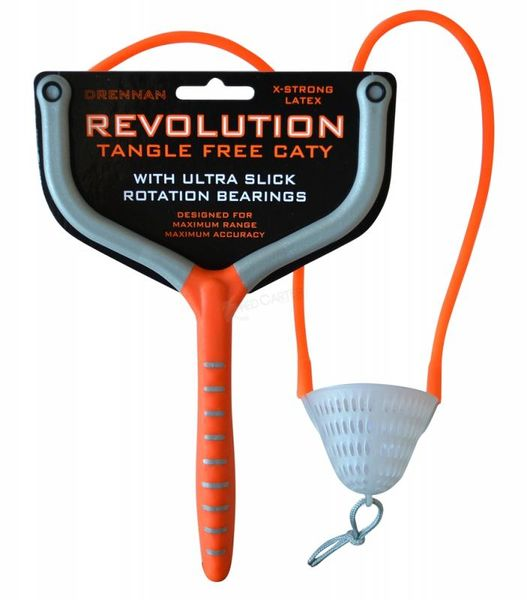 Drennan csúzli Revolution Tangle Free Caty narancs