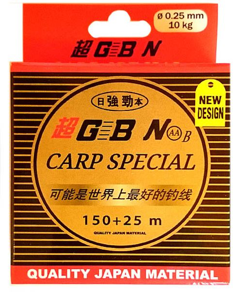 GBN Carp Special zsinór 0,14mm 150+25m