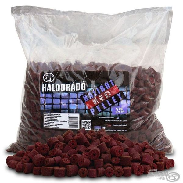 Haldorádó Red Halibut Pellet 5 kg / 12-16 mm