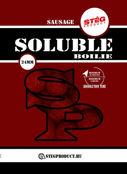 STÉG PRODUCT SOLUBLE BOILIE 24 MM SAUSAGE 1 KG