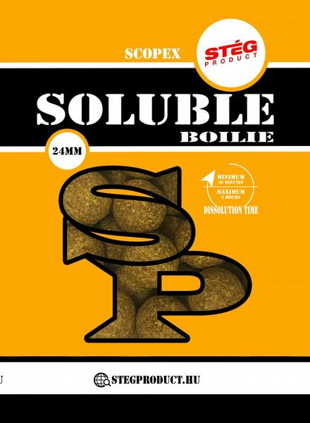 STÉG PRODUCT SOLUBLE BOILIE 24 MM SCOPEX 1 KG
